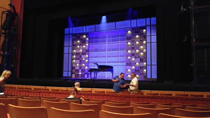 Seating view for Uihlein Hall Section Orchestra Row F Seat 38
