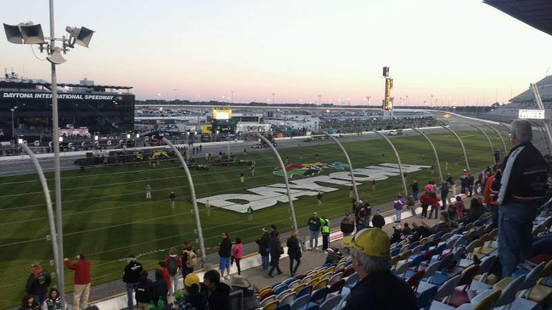 Seating view for Daytona International Speedway Section Campbell Box I Row 14 Seat 35