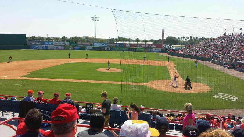 Seating view for Space Coast Stadium Section 207 Row 13 Seat 7