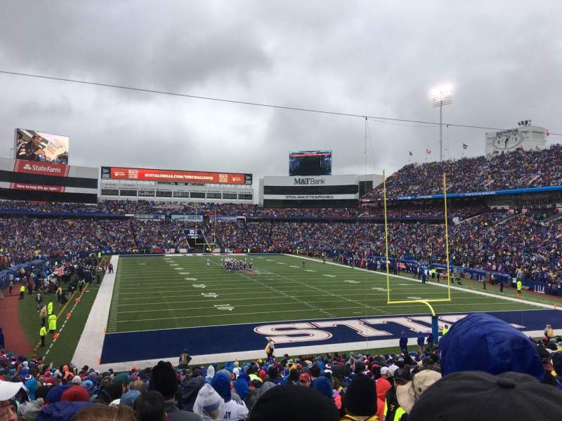 New Era Field, section: 103, row: 33, seat: 4