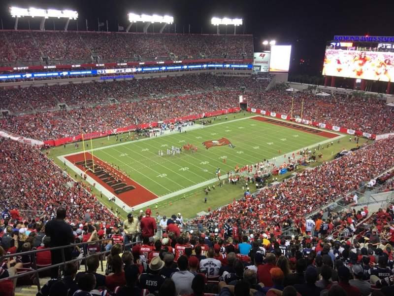 Raymond James Stadium, section: 304, row: BB, seat: 6