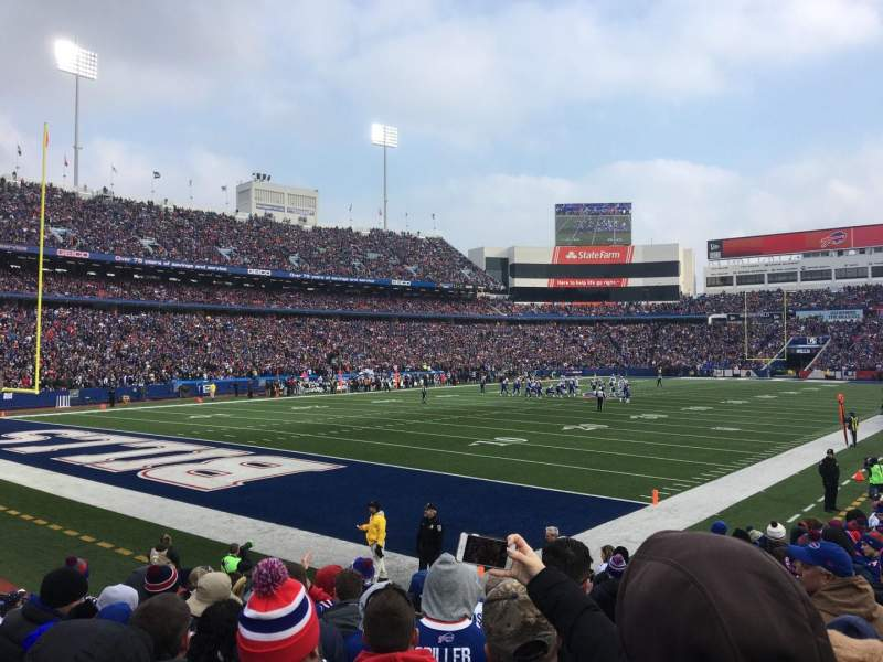 New Era Field, section: 140, row: 14, seat: 6