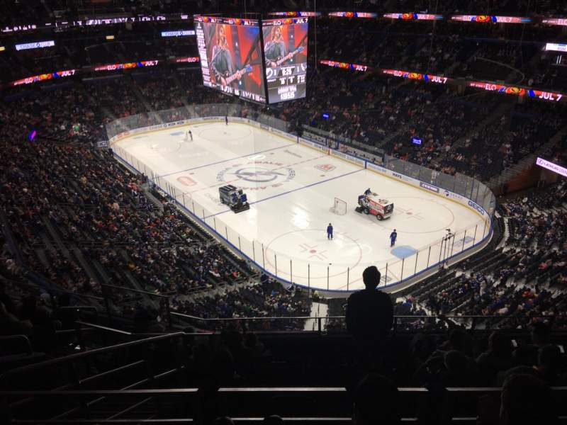 Seating view for Amalie Arena Section 311 Row H Seat 7