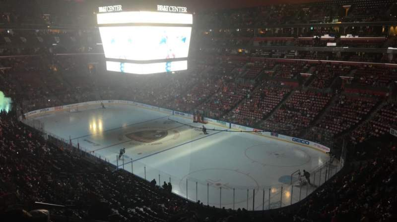 Seating view for FLA Live Arena Section CL31 Row 7 Seat 11