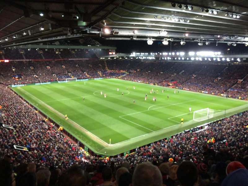 Old Trafford, section: NW3433, row: 13, seat: 31