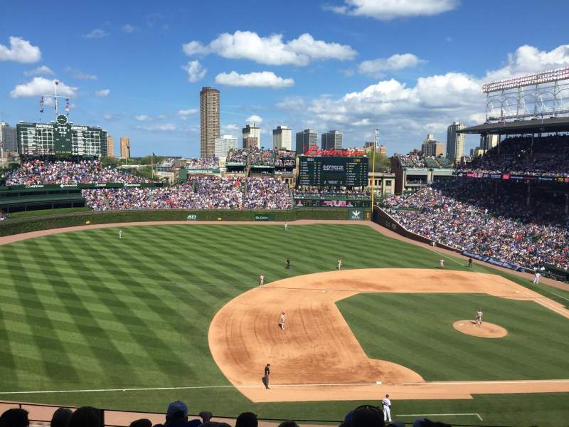 Seating view for Wrigley Field Section 309L Row 6 Seat 7