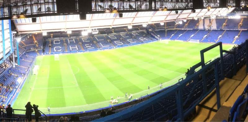 Seating view for Stamford Bridge