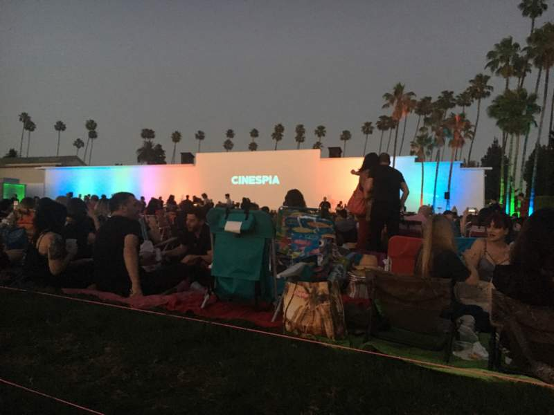 Seating view for Cinespia - Hollywood Forever Cemetery