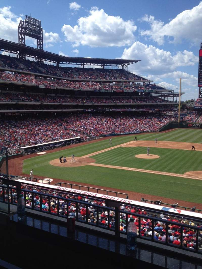 Seating view for Citizens Bank Park Section Suite 49 Row 2