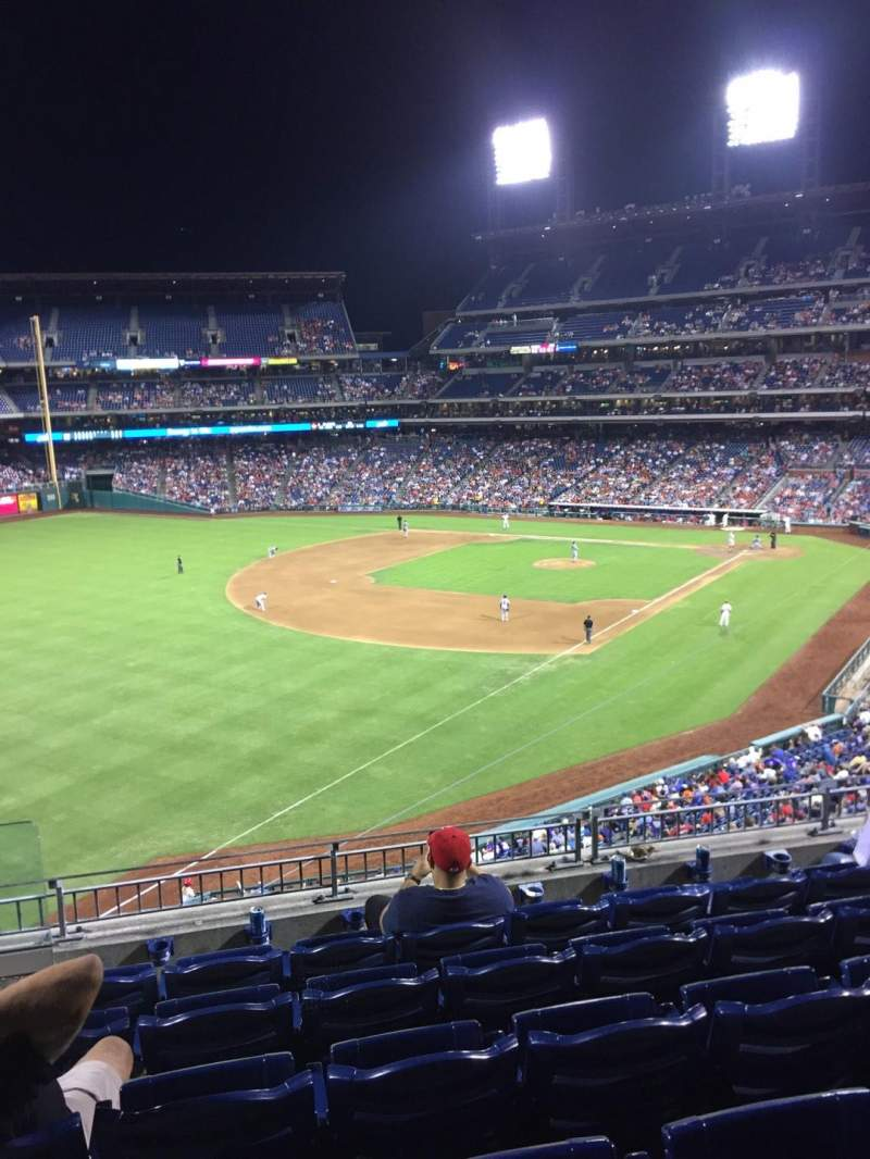 Seating view for Citizens Bank Park Section 235 Row 6 Seat 23