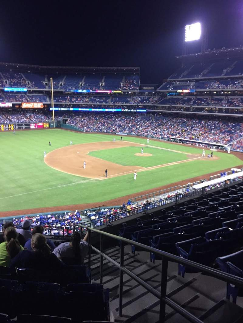 Seating view for Citizens Bank Park Section 233 Row 7 Seat 2