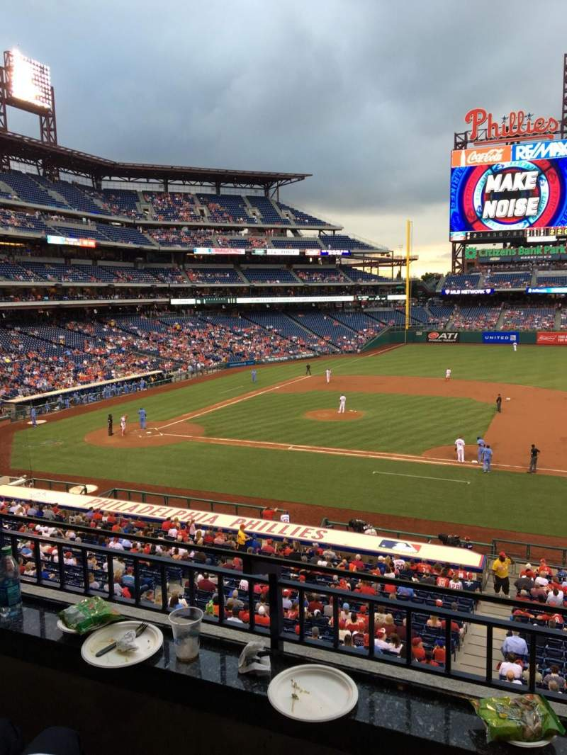 Seating view for Citizens Bank Park Section Suite 49 Row 2 Seat 5