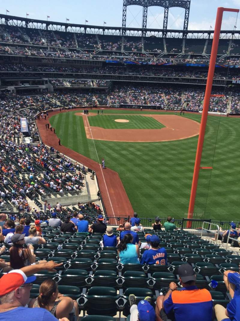 Seating view for Citi Field Section 304 Row 14 Seat 11