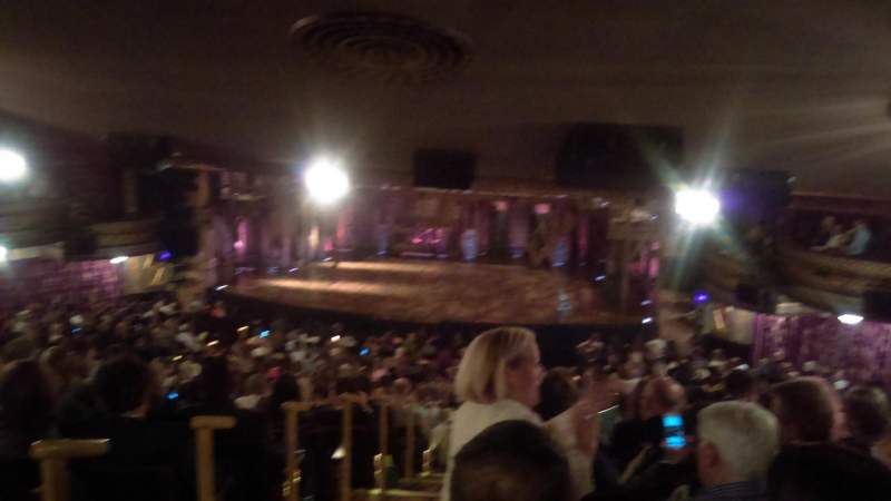 Richard Rodgers Theatre, section: Standing Room, row: 1, seat: 2