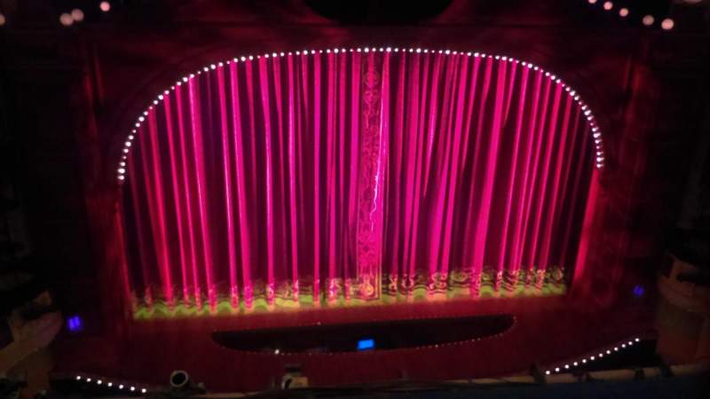 Shubert Theatre, section: Balcony, row: B, seat: 112