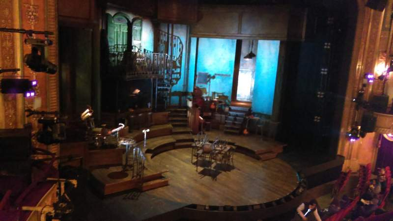 Seating view for Walter Kerr Theatre Section Mezzanine L Row C Seat 19