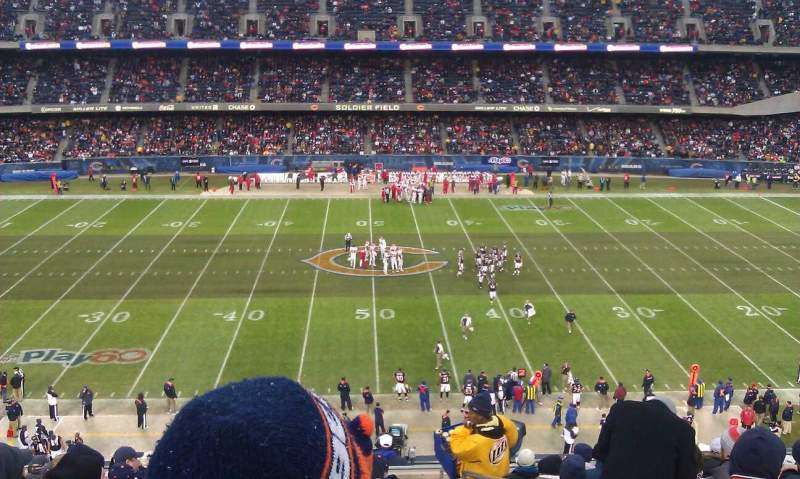 Seating view for Soldier Field