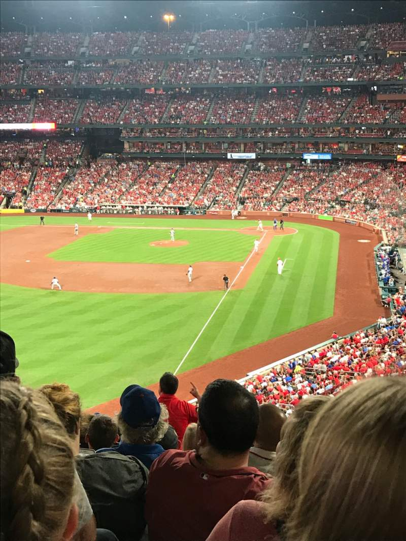 Seating view for Busch Stadium Section 270 Row 11 Seat 6