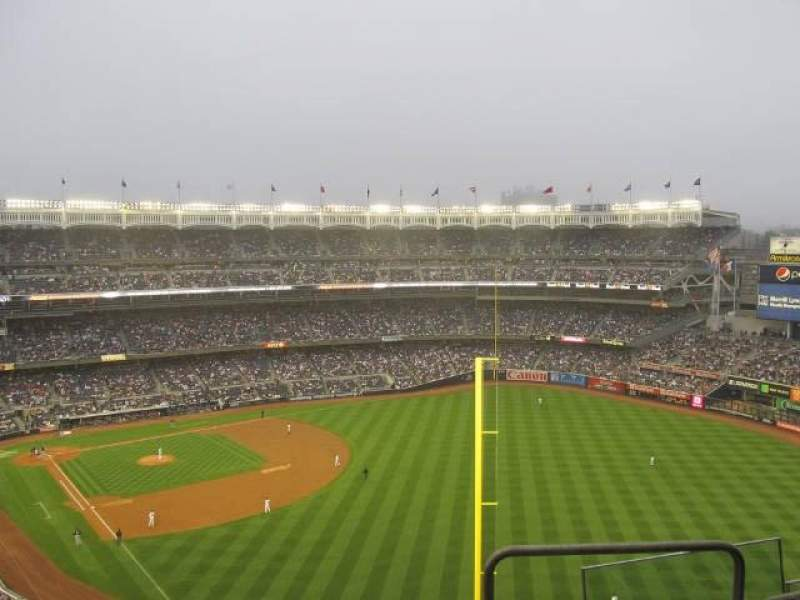 Seating view for Yankee Stadium Section 413 Row 7 Seat 18