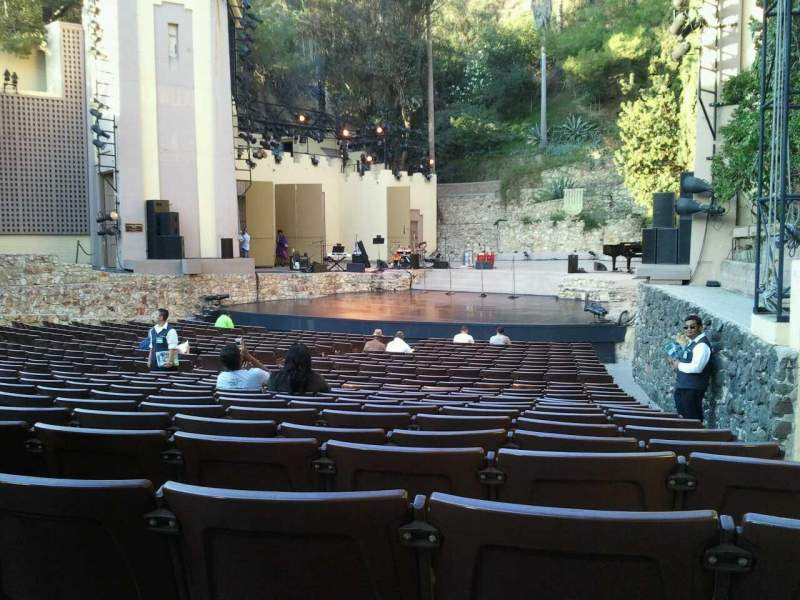 Seating view for John Anson Ford Amphitheatre Section D Row R Seat 30