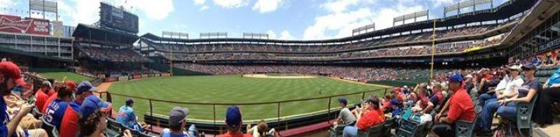 Seating view for Globe Life Park in Arlington Section 3 Row 4 Seat 5