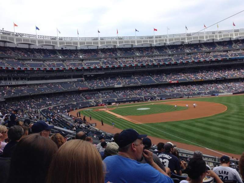 Seating view for Yankee Stadium Section 210 Row 8 Seat 3