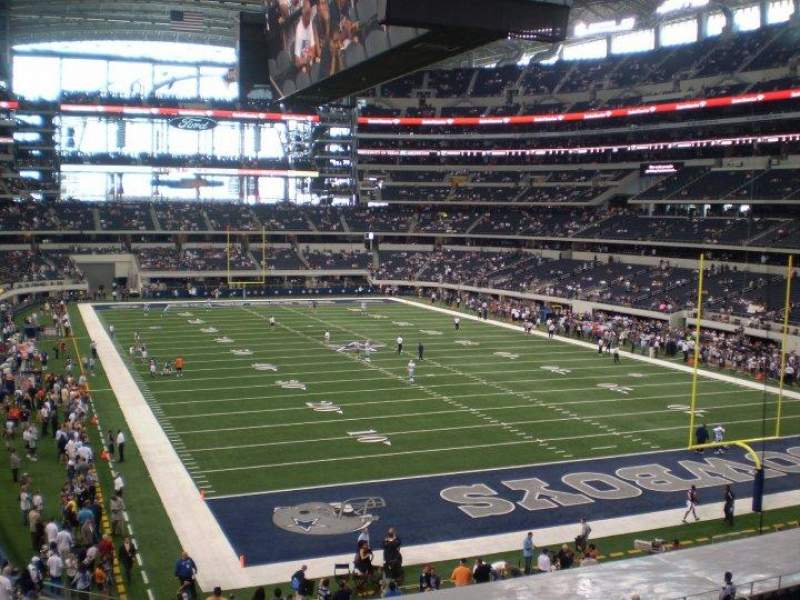 Seating view for AT&T Stadium Section 226 Row 5 Seat 5