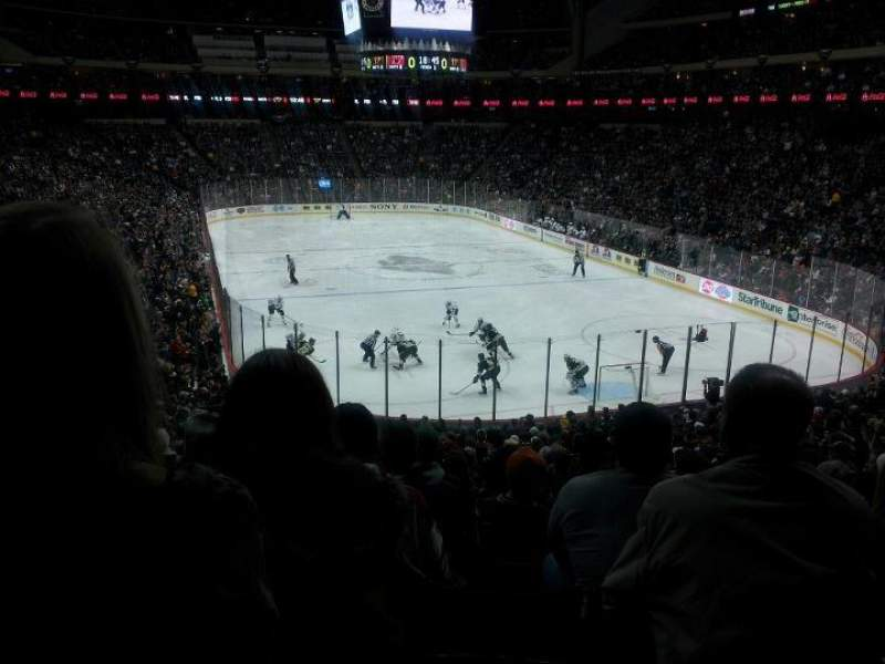 Seating view for Xcel Energy Center Section 124 Row 25 Seat 18