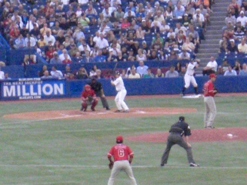Seating view for Rogers Centre Section 107R Row 1 Seat 6