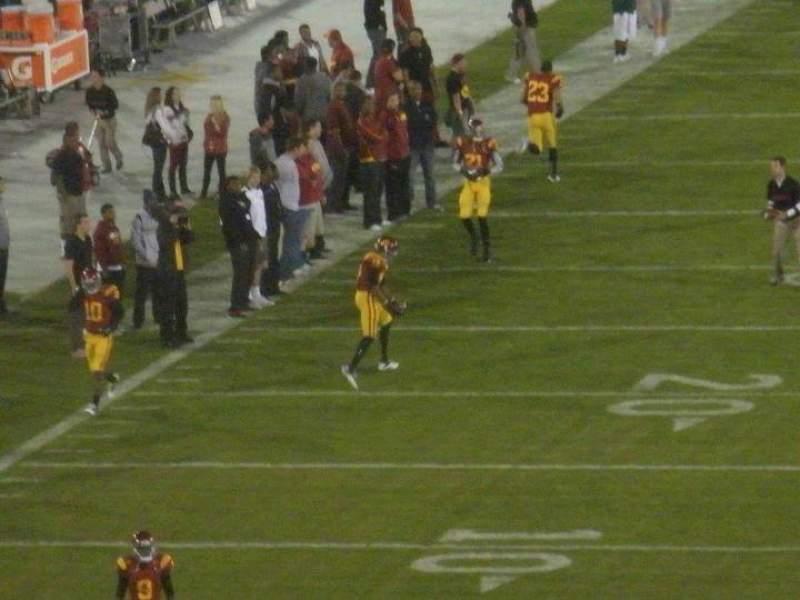 Seating view for los angeles memorial coliseum Section 14 Row 53 Seat 13