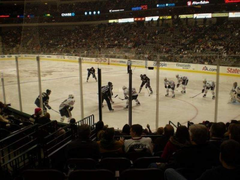 Seating view for American Airlines Center Section 115 Row K Seat 4