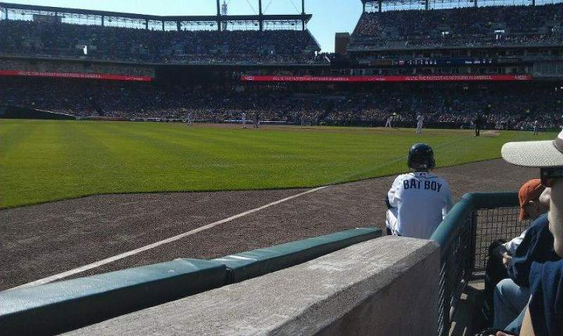 Seating view for Comerica Park Section 142 Row 5 Seat 8