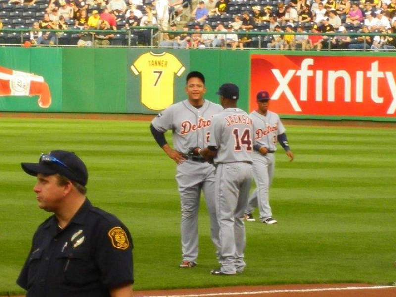 Seating view for PNC Park Section 10 Row J Seat 9, 10