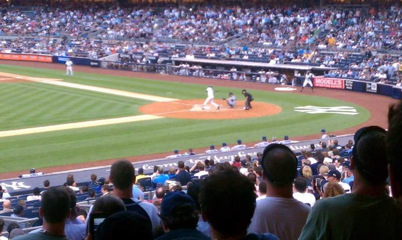 Seating view for Yankee Stadium Section 125 Row 29 Seat 10
