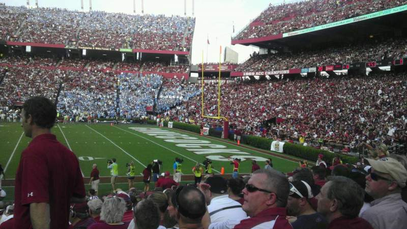 Seating view for Williams-Brice Stadium Section 7 Row 17 Seat 1