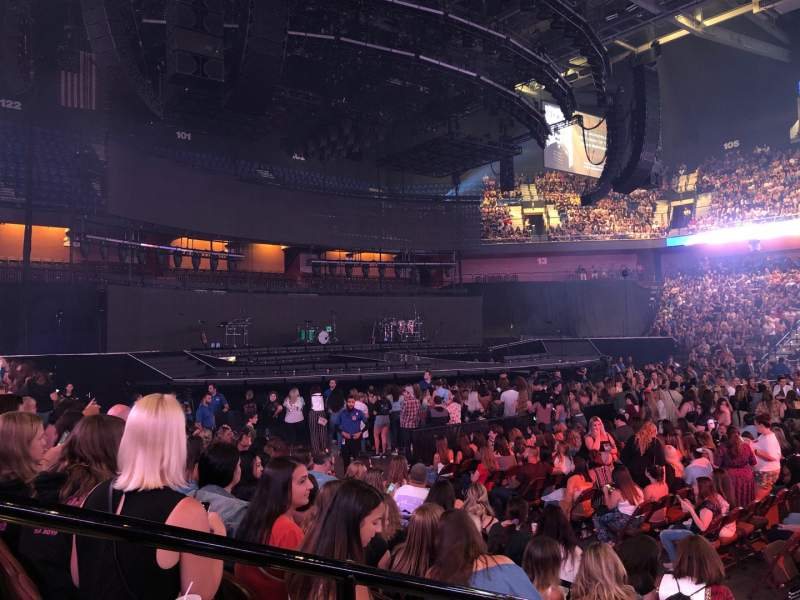 Seating view for Mohegan Sun Arena Section 24 Row G Seat 20
