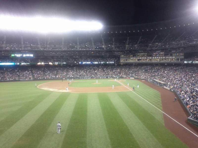 Seating view for Safeco Field Section 182 Row 1 Seat 16