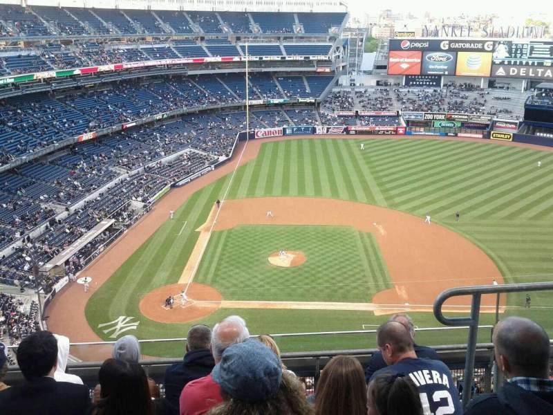 Seating view for Yankee Stadium Section 417 Row 5 Seat 3