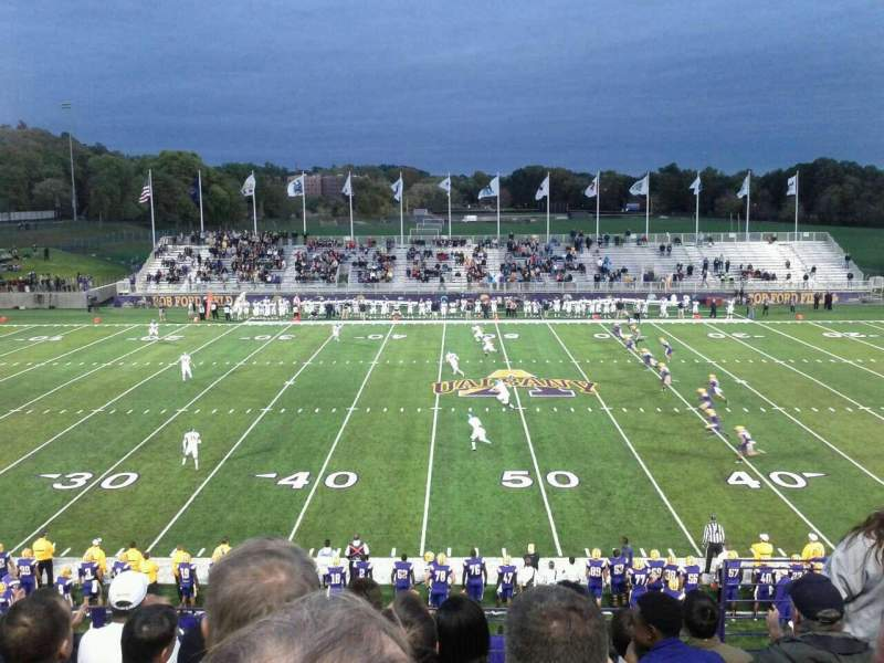 Seating view for Bob Ford Field Section 205 Row F Seat 6
