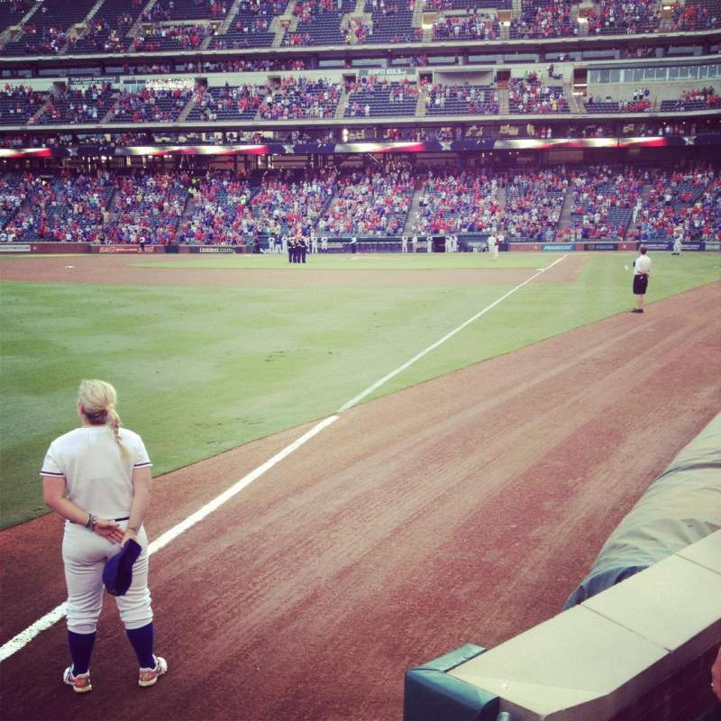 Seating view for Globe Life Park in Arlington Section 12 Row 2 Seat 11