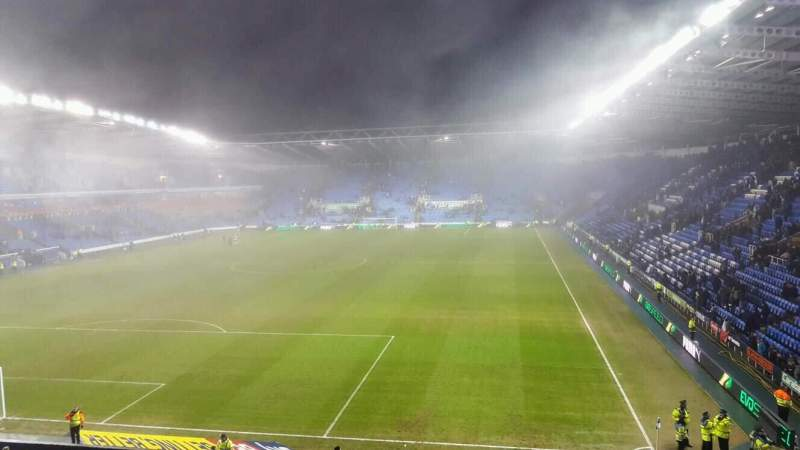 Seating view for Madejski Stadium Section R27 Row AA Seat 63