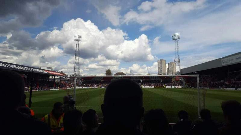 Seating view for Griffin Park Section A400