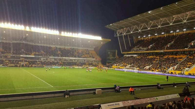 Seating view for Molineux Stadium Section JL6 Row M Seat 167