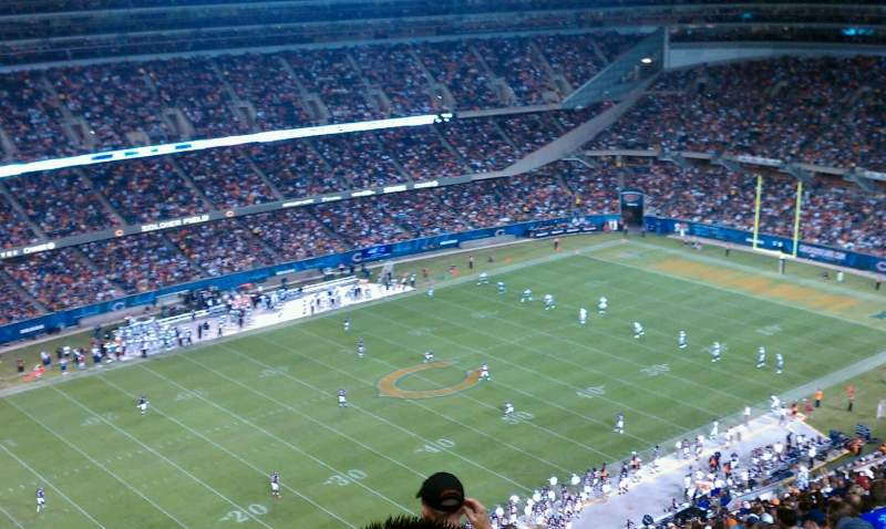 Seating view for Soldier Field Section 443