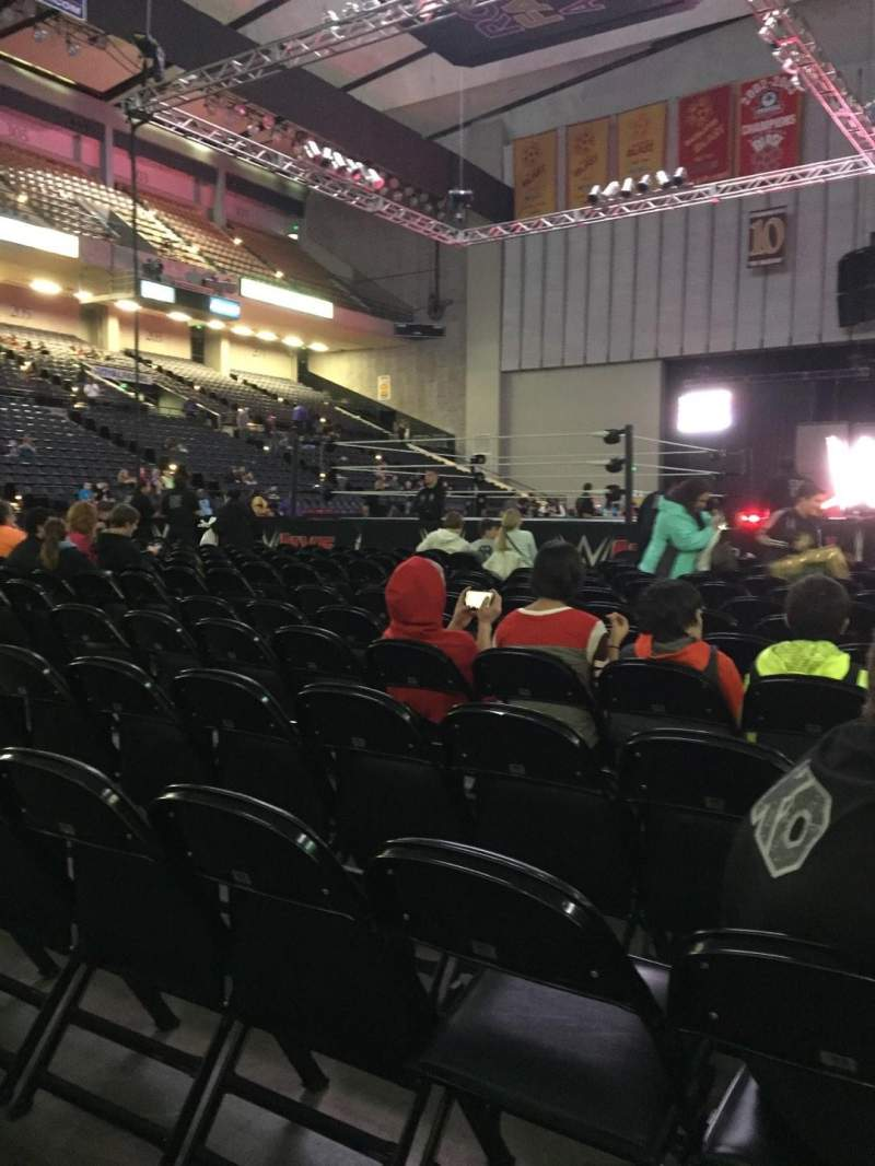 Seating view for Royal Farms Arena Section FLR-4 Row N Seat 5