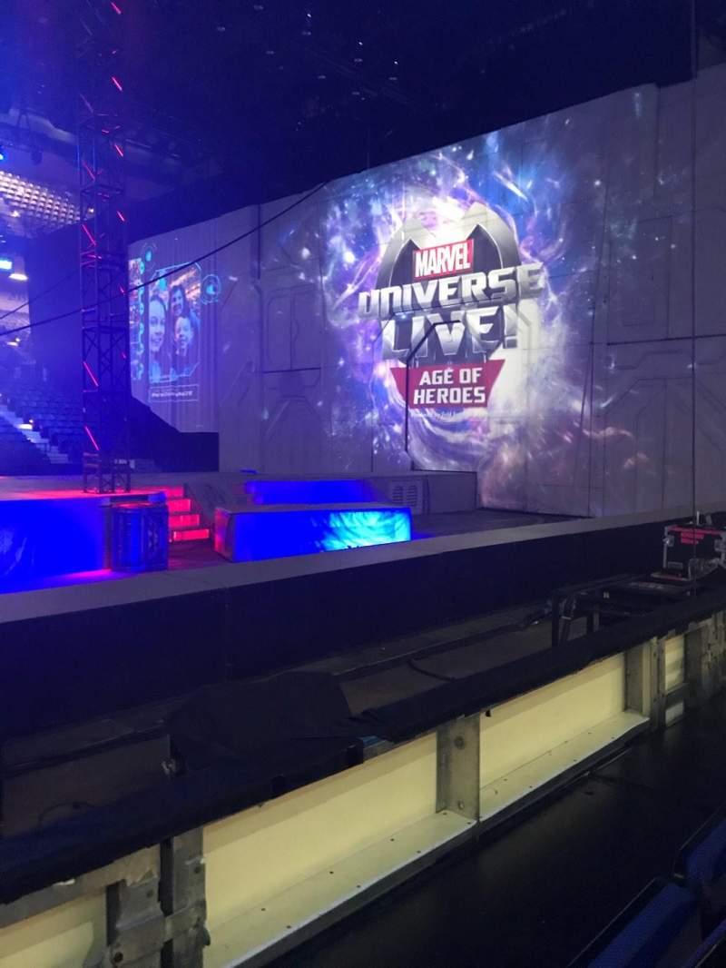 Royal Farms Arena, section: 108, row: BB, seat: 13