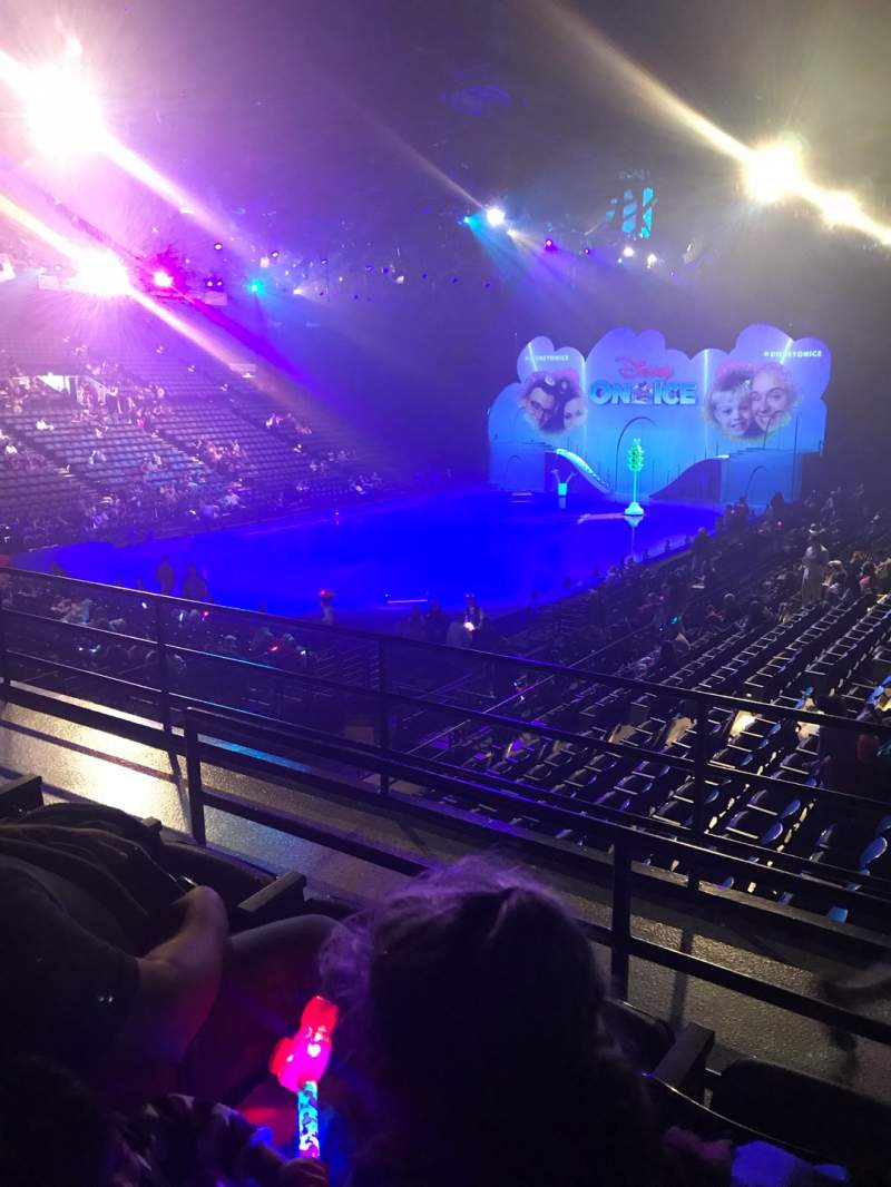 Seating view for Royal Farms Arena Section 224 Row C Seat 11