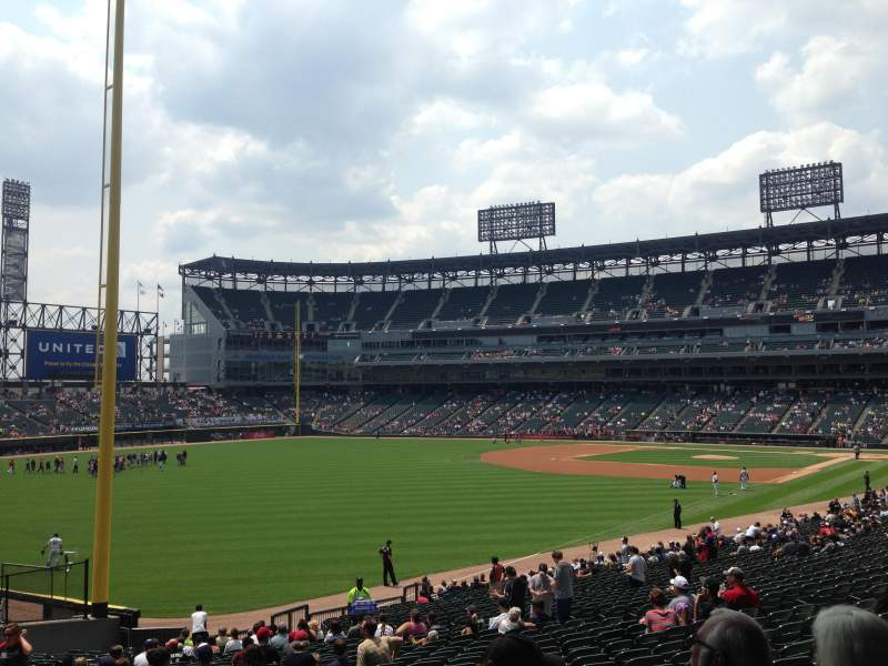 Guaranteed Rate Field, section 154, row 34, seat 20 - Chicago ...