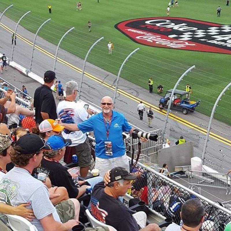 Seating view for Daytona International Speedway Section 351 Row 4 Seat 10