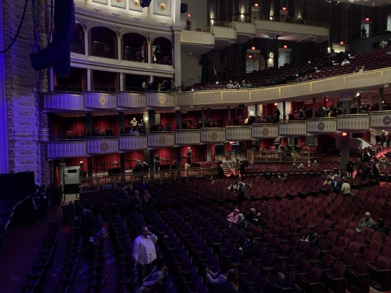 Seating view for The Met Philadelphia Section Grand Salle BOX 17 Row A Seat 3